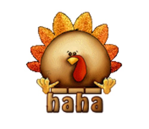 haha - ThanksgivingCuteTurkey