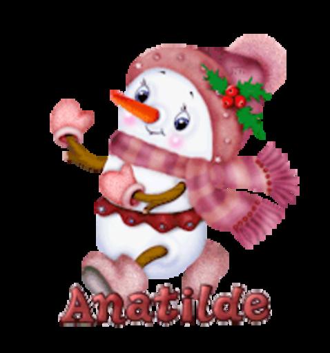 Anatilde - CuteSnowman