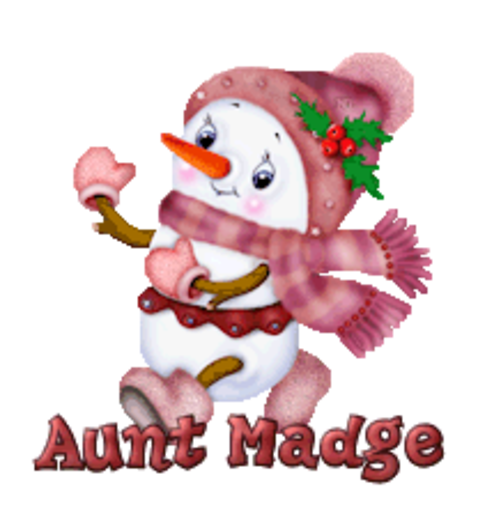 Aunt Madge - CuteSnowman