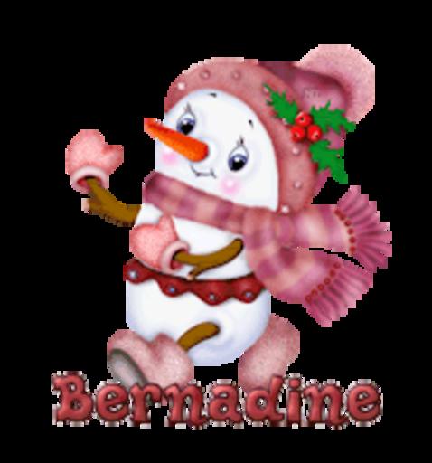 Bernadine - CuteSnowman