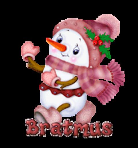 Bratmus - CuteSnowman