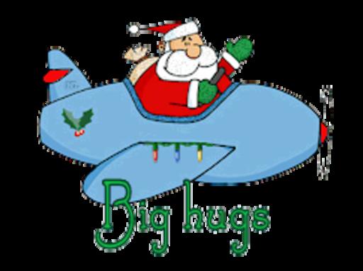 Big Hugs - SantaPlane