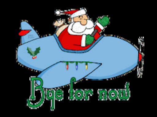 Bye for now - SantaPlane