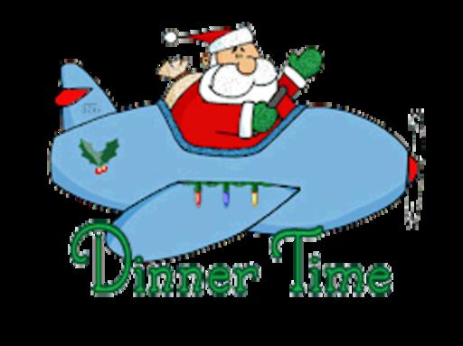 Dinner Time - SantaPlane
