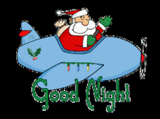 Good Night - SantaPlane