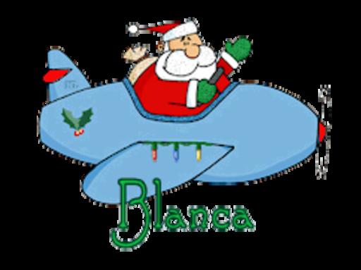 Blanca - SantaPlane