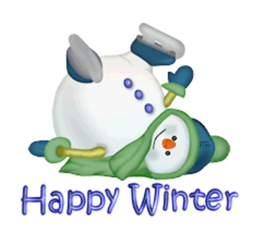 Happy Winter - CuteSnowman1318