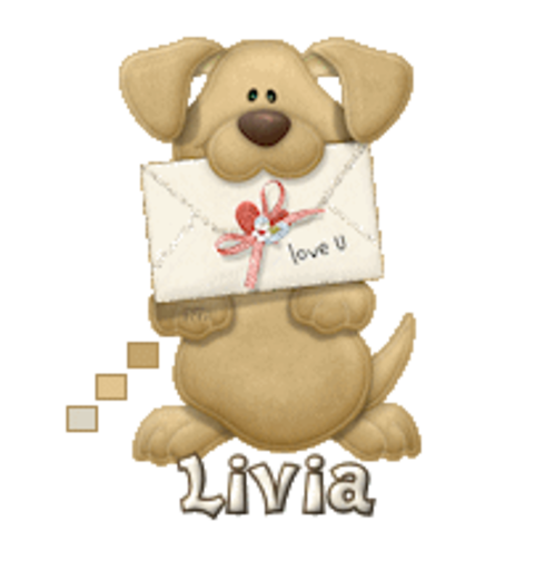 Livia - PuppyLoveULetter