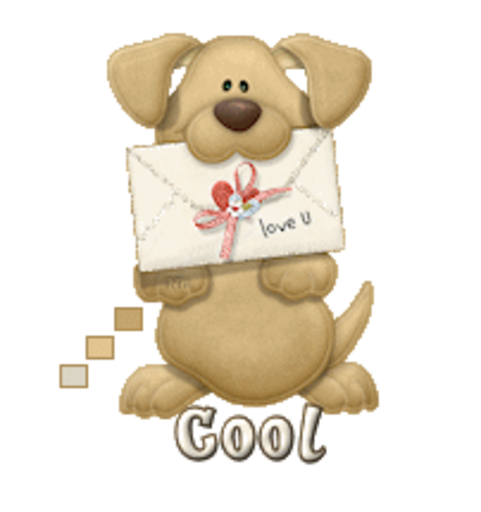 Cool - PuppyLoveULetter