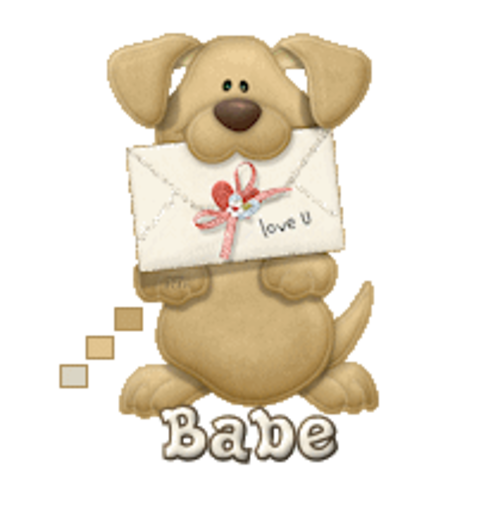 Babe - PuppyLoveULetter