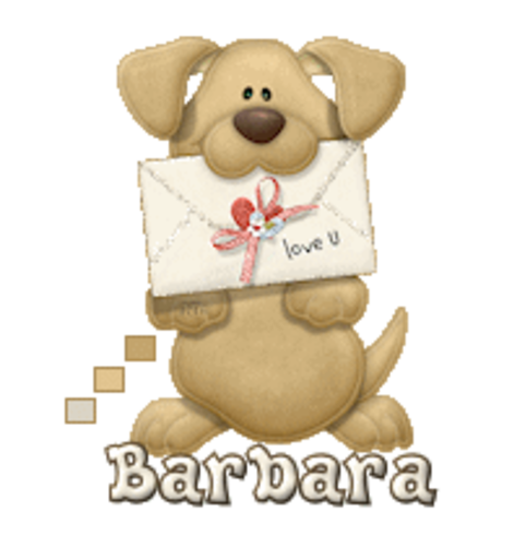 Barbara - PuppyLoveULetter