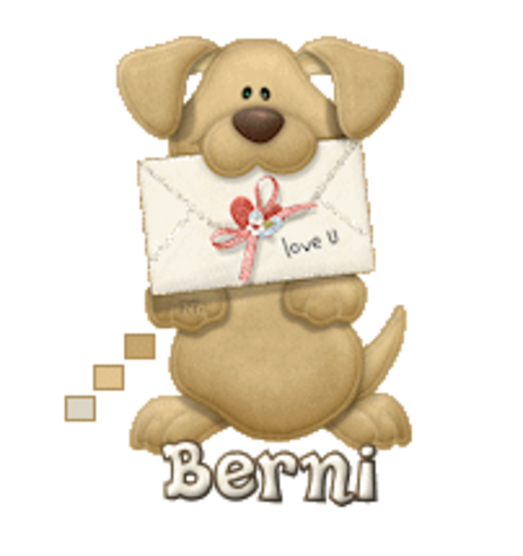 Berni - PuppyLoveULetter