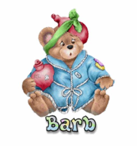 Barb - BearGetWellSoon
