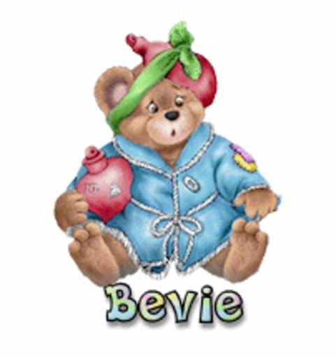 Bevie - BearGetWellSoon