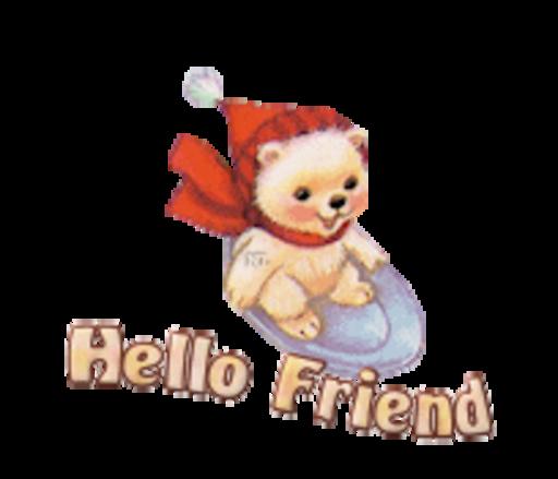 Hello Friend - WinterSlides