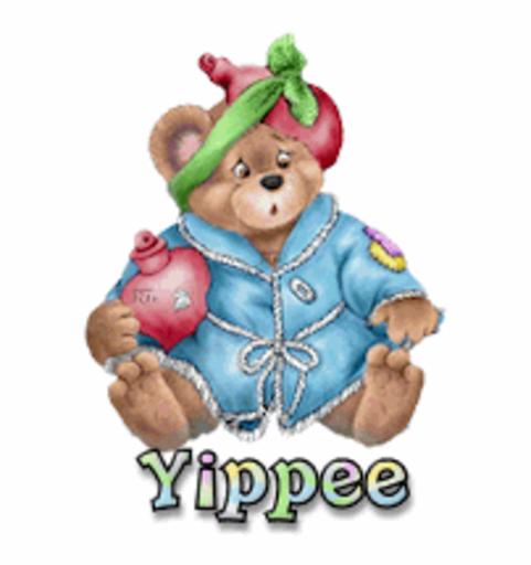 Yippee - BearGetWellSoon