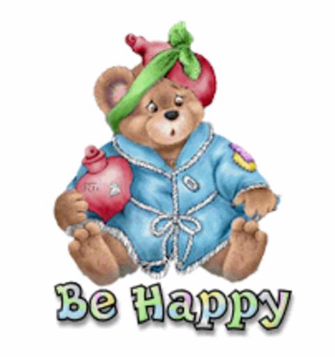 Be Happy - BearGetWellSoon