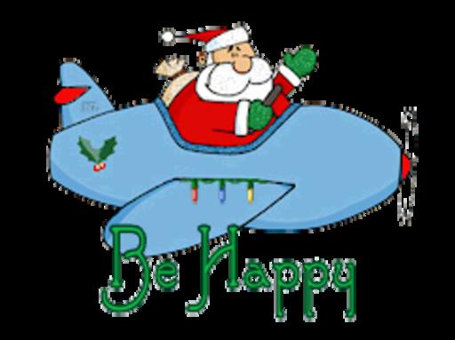 Be Happy - SantaPlane