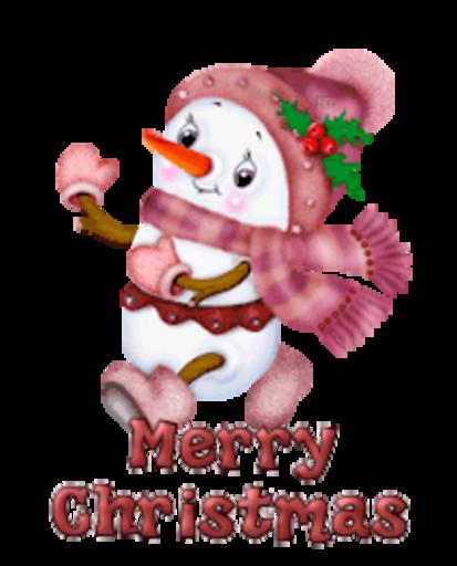 Merry Christmas (2) - CuteSnowman