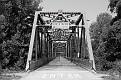 Trestle Bridge -Black and White