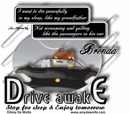 Brenda DriveAwake AmyDeW Alyssia