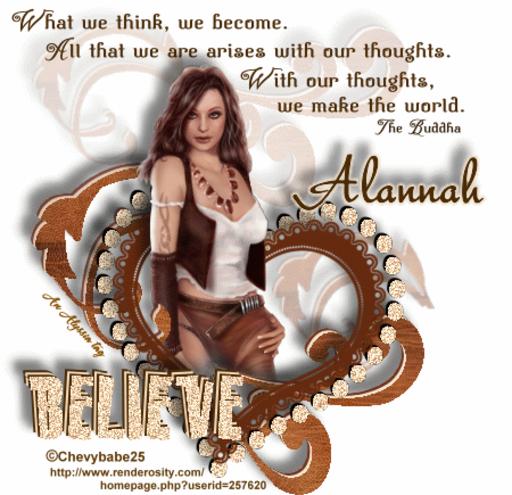 Alannah Believe Chevyb Alyssia