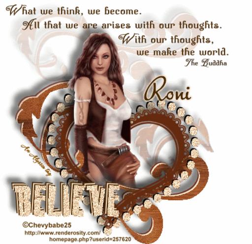 Roni Believe Chevyb Alyssia
