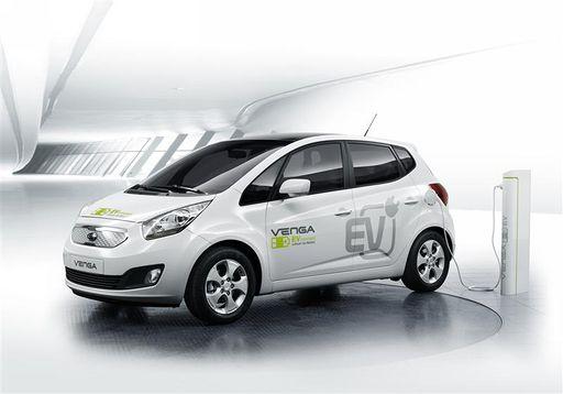 2010 Kia Venga EV Concept