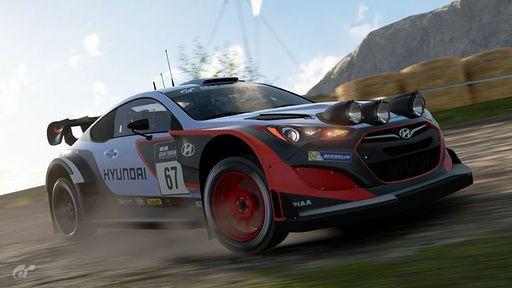 2013 Hyundai Genesis Coupé Gr.B Rally Car