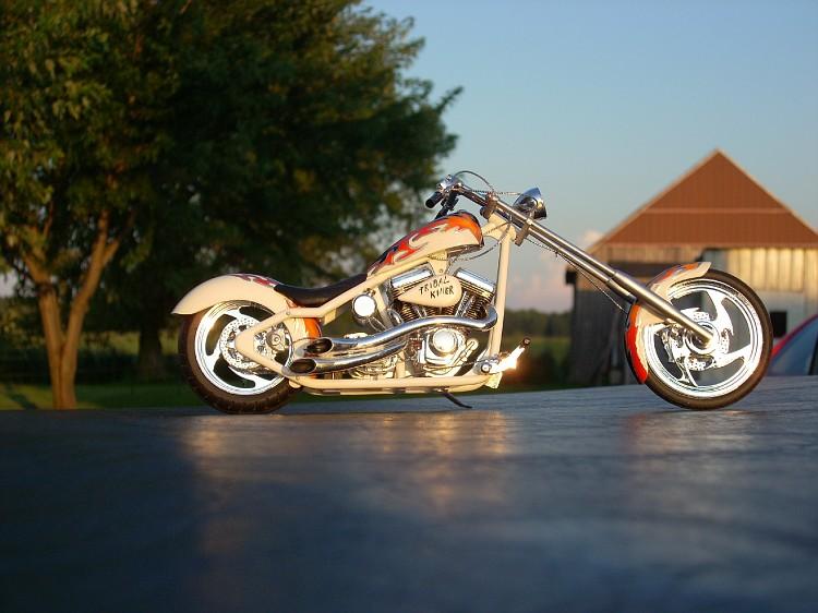 Tribal Killer chopper Moto080-vi