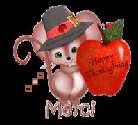 Merci - ThanksgivingMouse
