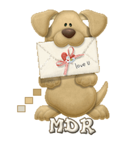 MDR - PuppyLoveULetter