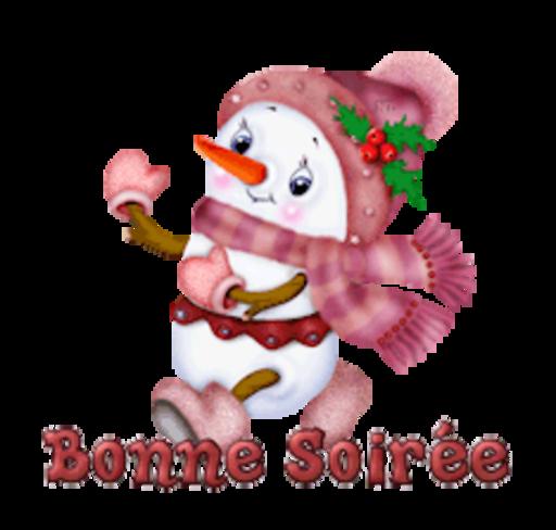 Bonne Soiree - CuteSnowman