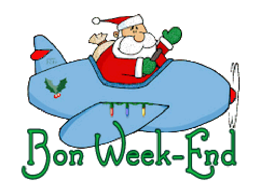 Bon Week-End - SantaPlane