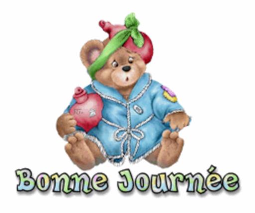 Bonne Journee - BearGetWellSoon