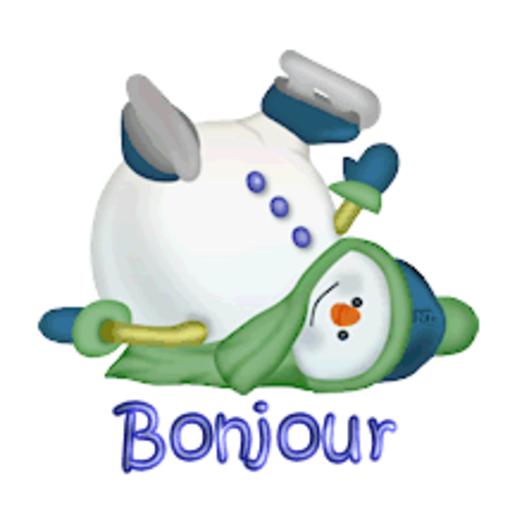 Bonjour - CuteSnowman1318