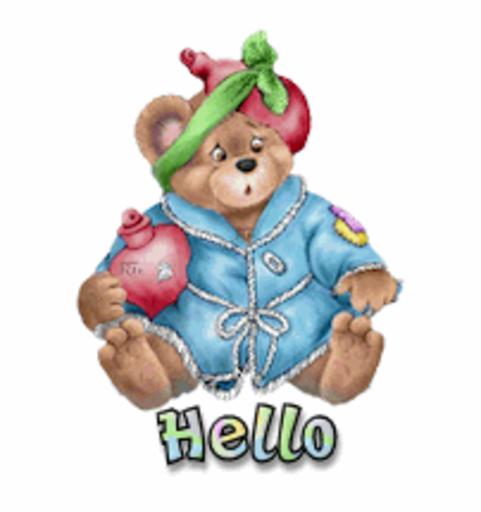 Hello - BearGetWellSoon