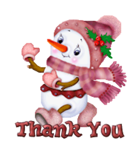 Thank You - CuteSnowman
