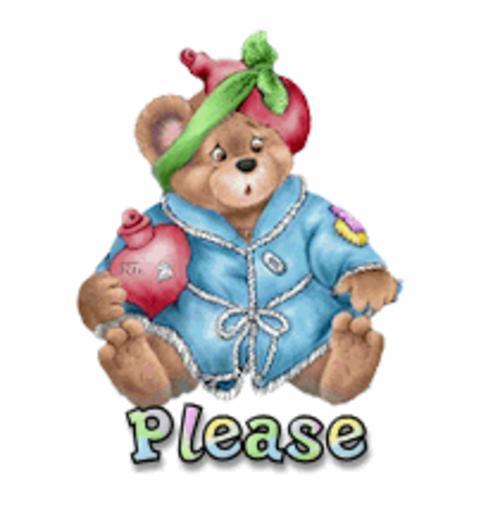 Please - BearGetWellSoon