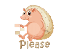 Please - CutePorcupine