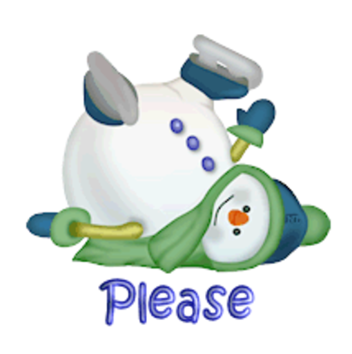 Please - CuteSnowman1318