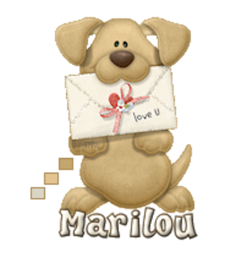 Marilou - PuppyLoveULetter