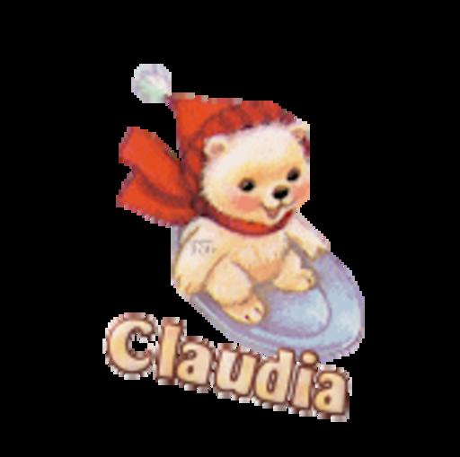 Claudia - WinterSlides