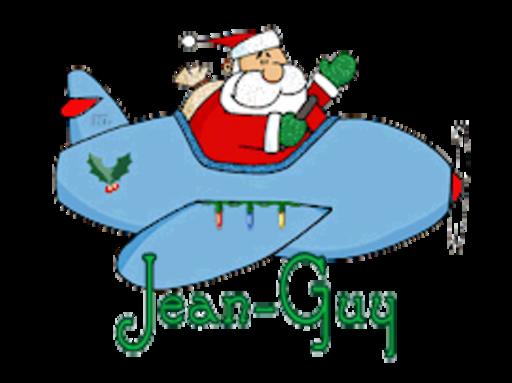 Jean-Guy - SantaPlane