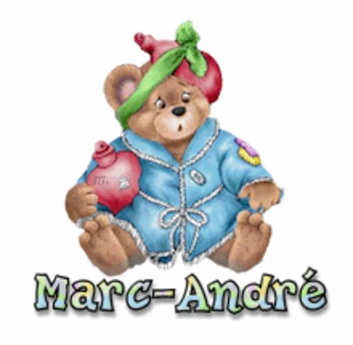 Marc-Andre - BearGetWellSoon