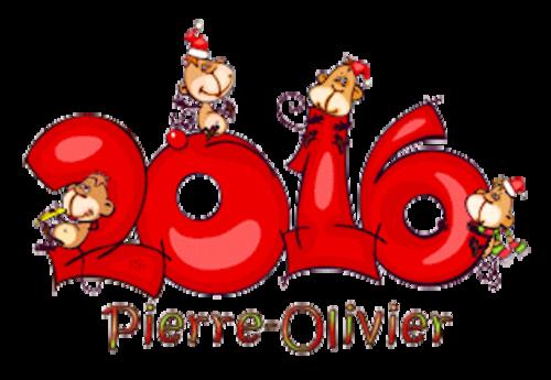 Pierre-Olivier - 2016WithMonkeys