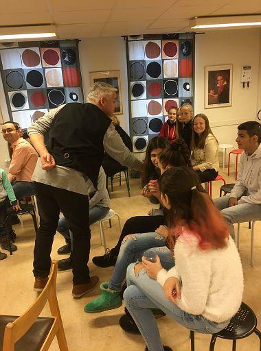 """2017.12.10""""Skrattfest"""" på Askimsskola"""