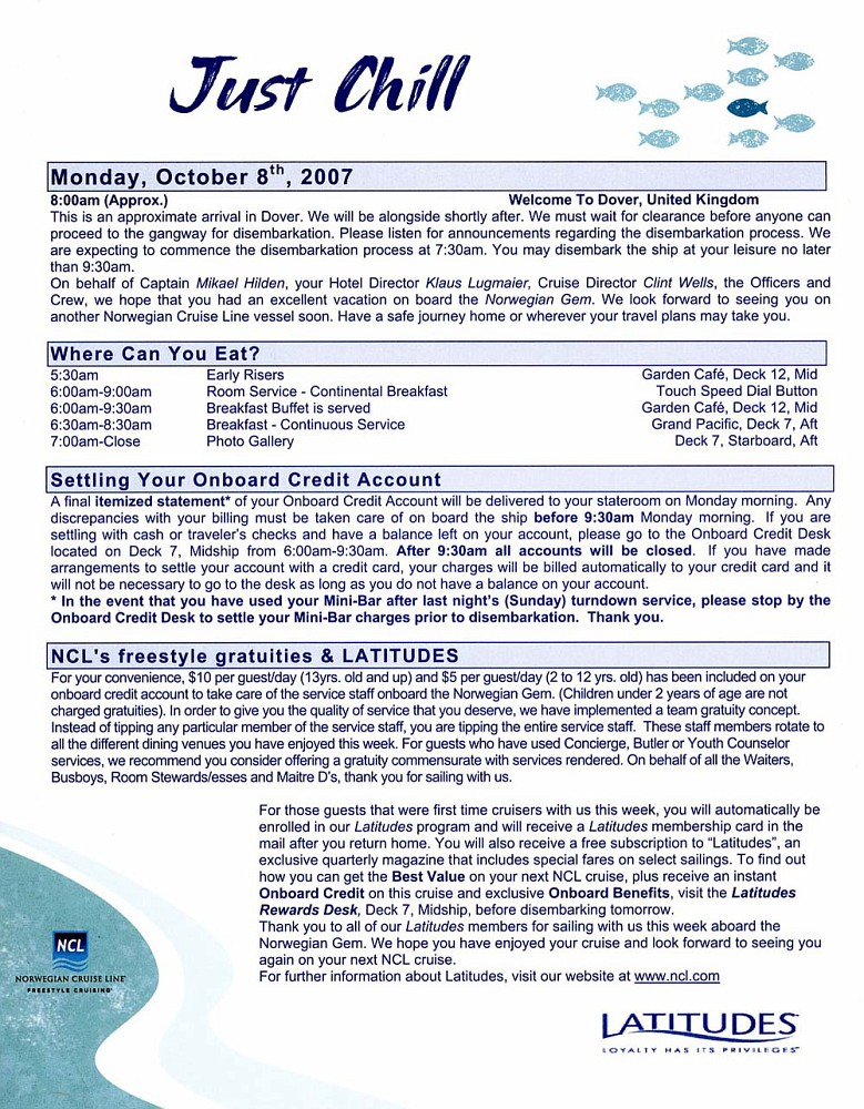Freestyle Daily 8 Oct 2007 Page 1
