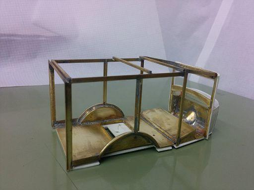 Brass framework 8