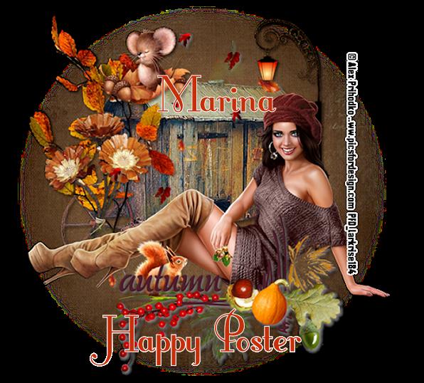 ARE YOU A HAPPY POSTER? AutumnAutumnMarinavi-vi